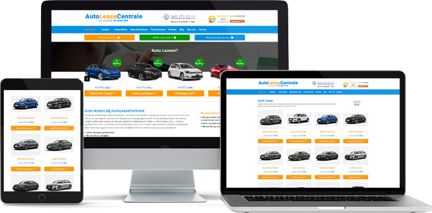 Webdesign autoleasecentrale