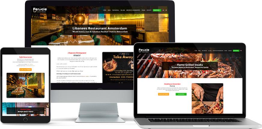 Webdesign restaurant fenicie