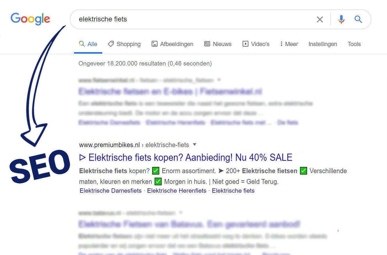SEO (zoekmachine optimalisatie)